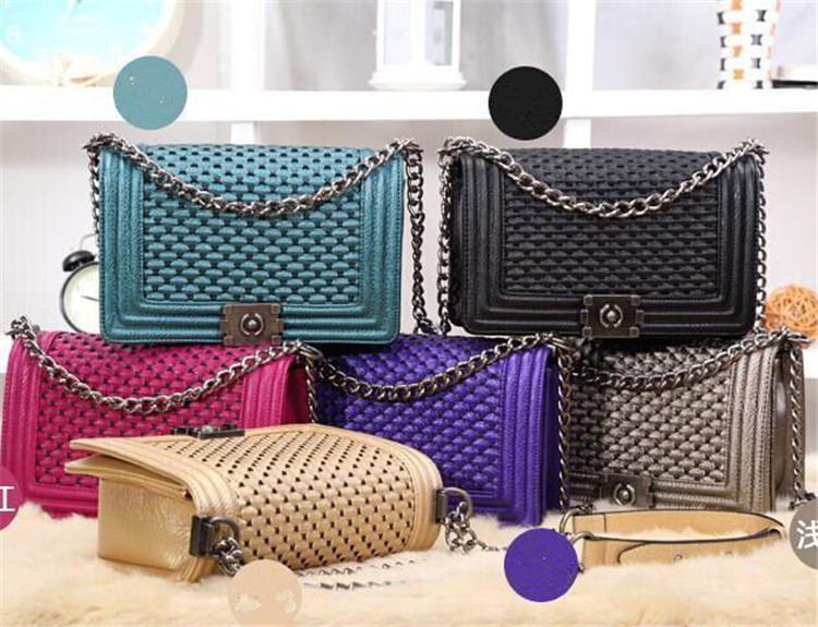 2016 CC Brand Fashion Genuine Leather GST Small Party Tote Bag Women's Cowhide Handbag Ladies Shoulder Bags High Quality