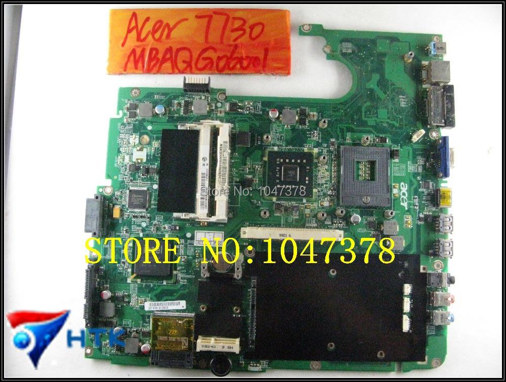 Здесь можно купить  Wholesale Laptop Motherboard  FOR acer aspire 7730 MBAQG06001 DA0ZY2MB6E0 100% Work Perfect  Компьютер & сеть