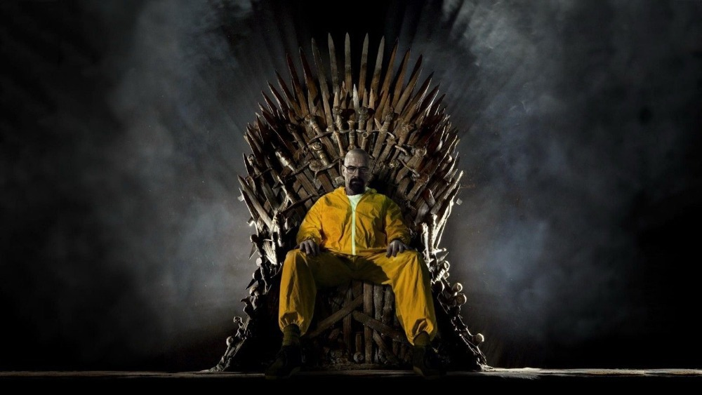 P1113 breaking bad game of thrones crossovers final season for Decoration murale game of thrones