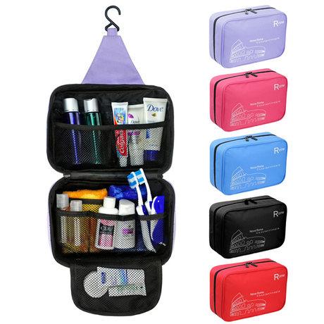 Fashion Handbag Portable Traveling Toiletry hanging Kit Men&Women Travel Kit Storage Bag Waterproof Cosmetic Bag Wash Bag(China (Mainland))