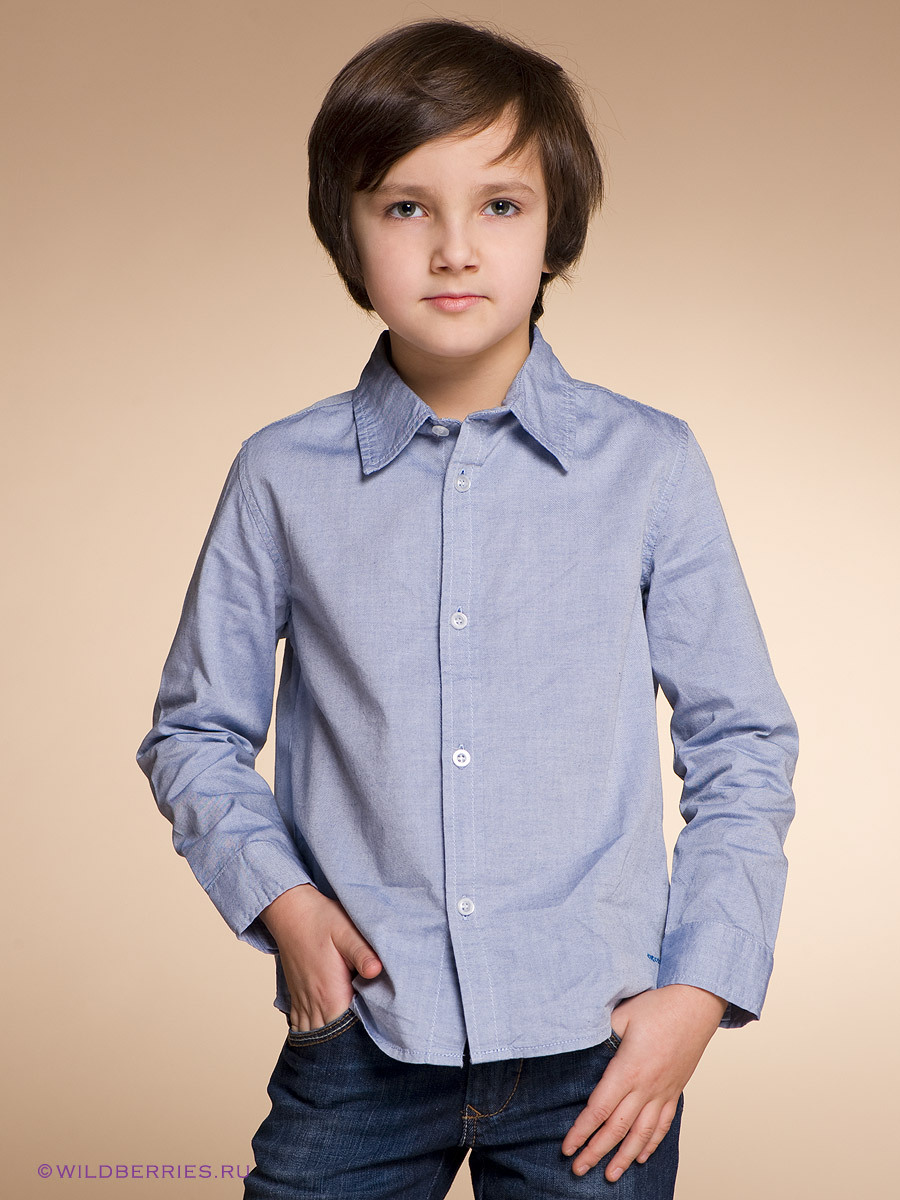 School Boys Shirt Long Sleeve Shirt Teenage Shirt