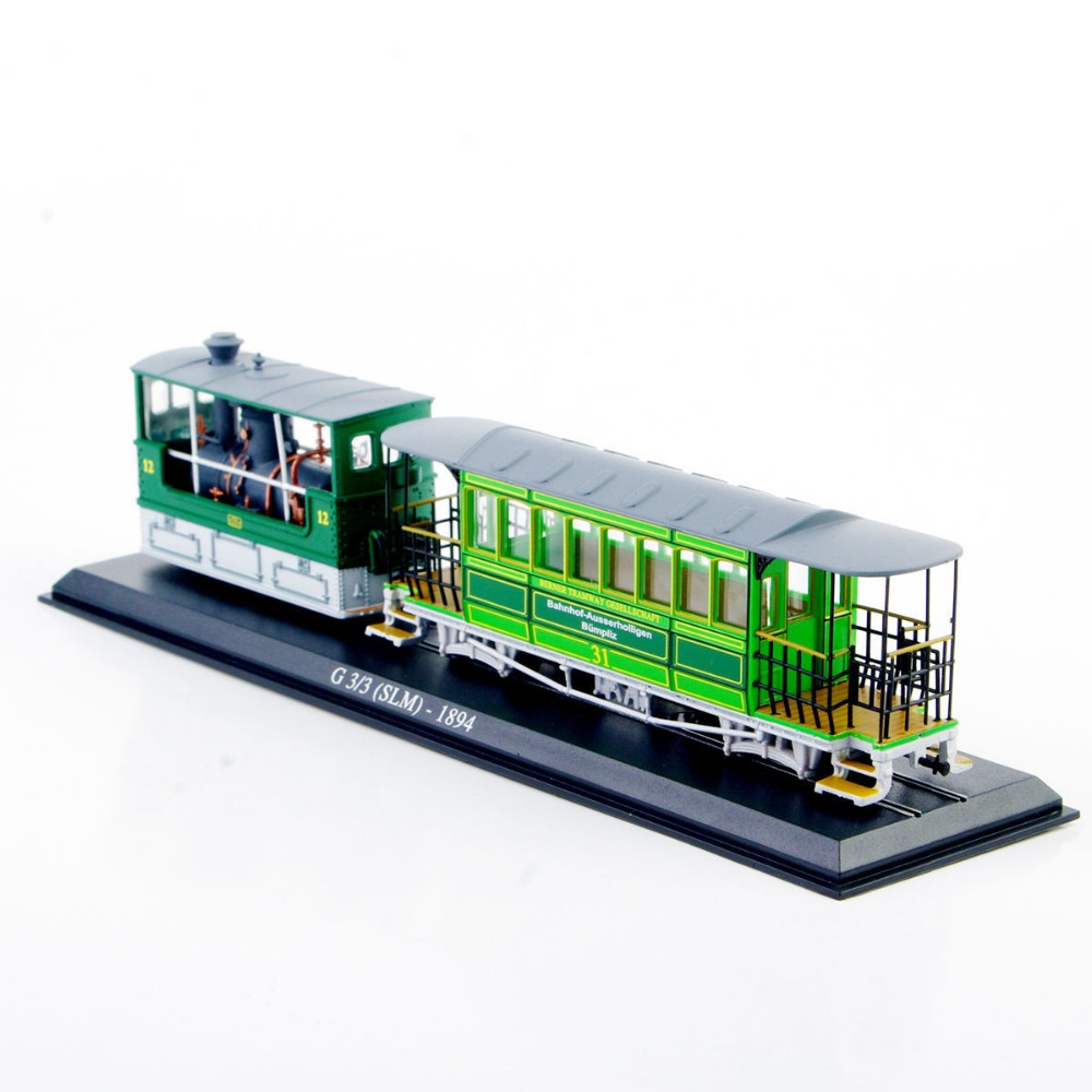 1:87 Tram Model Toys Strain Model Juguetes 1/87 Scale G 33 (SLM)-1894 Diecast Car Model Truck Bus Model Toys Collection(China (Mainland))