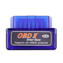 New Super Mini V2.1 ELM327 OBD2 ELM 327 Bluetooth Interface Auto Car Scanner Diagnostic Tool hot sale(China (Mainland))