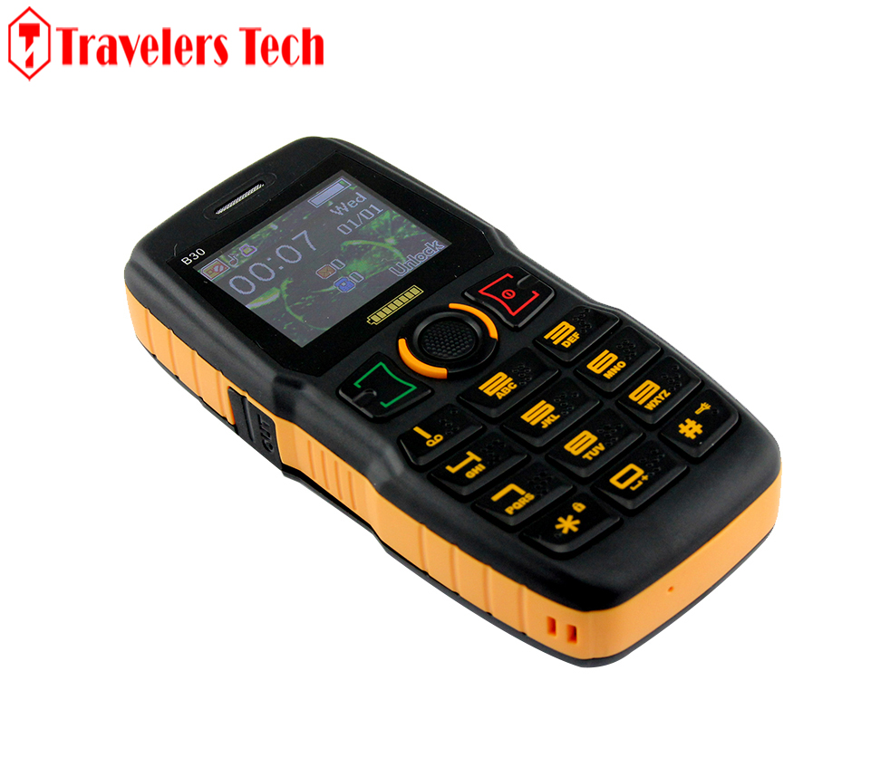 Original ADMET B30 Mobile Phone Big Battery Long Standby Dual SIM Card Senior Cellphones With Electric Torch and Louder Speaker(China (Mainland))