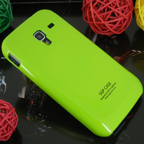! SGP Smooth Glossy Paint Hard Case Samsung Galaxy Ace 2 i8160 Candy Colors Cover, SAM-003 - Wonderful Team store