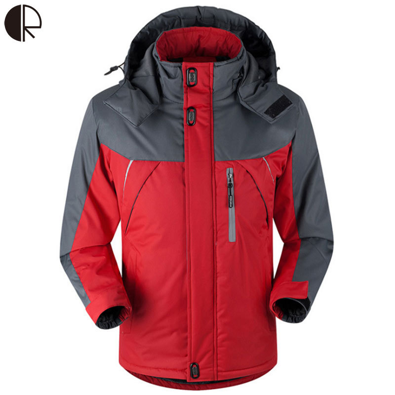 Free shipping 2015 New Arrive Plus Size S 5XL Thick Winter Coat Men s Women s