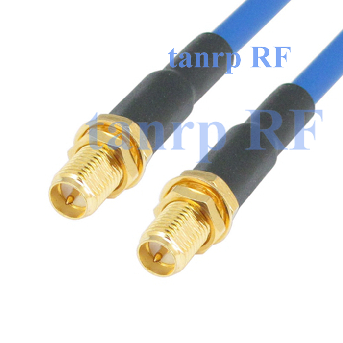 10pcs 15CM coax Flexible blue jacket jumper extension cable RG402 8inch RP SMA female jack to RP SMA female RF adapter connector<br><br>Aliexpress