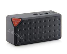 Bluetooth Speaker Stereo Mini X3 Wireless Handsfree Loudspeaker With Mic For iPhone Samsung Mp3 PC Support FM TF