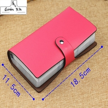 Buy 96 Slots Fashion New Buckle Multi-Card Bits Business cards Large Capacity Bank porte carte credit Card Holder Sets Men Women for $11.56 in AliExpress store