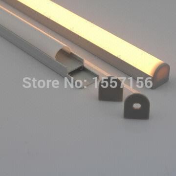2015 Fashion Miroir Rushed 12v Led Tube Led Bar Aluminum Profile For Ceiling Lighting With Removable Base Holder For Furniture(China (Mainland))