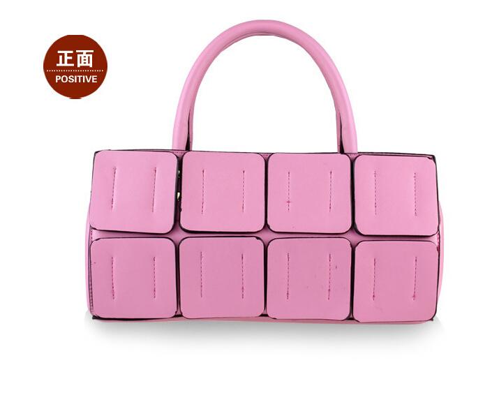New fashion high quality handbags Kim kardashian checked sling women messenger bag handbag Ms single shoulder bag(China (Mainland))