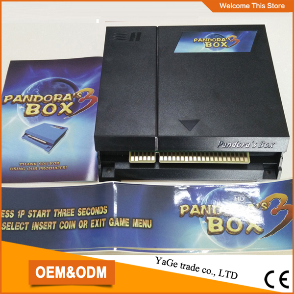 New Arrival Pandoras Box 3  arcade game PCB,jamma multi game motherboard with 520 games<br><br>Aliexpress