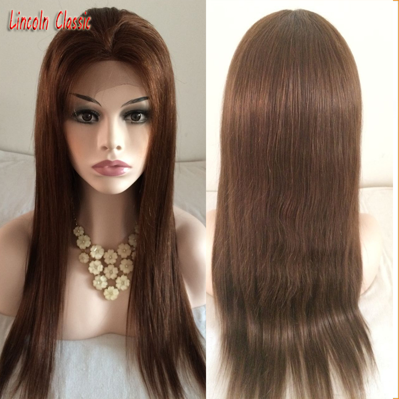 Lace Front Full Lace Wigs silky Straight 8-28inch In Stock Unprocessed Cheap Grade 7A Brazilian Virgin full lace Human Hair Wigs