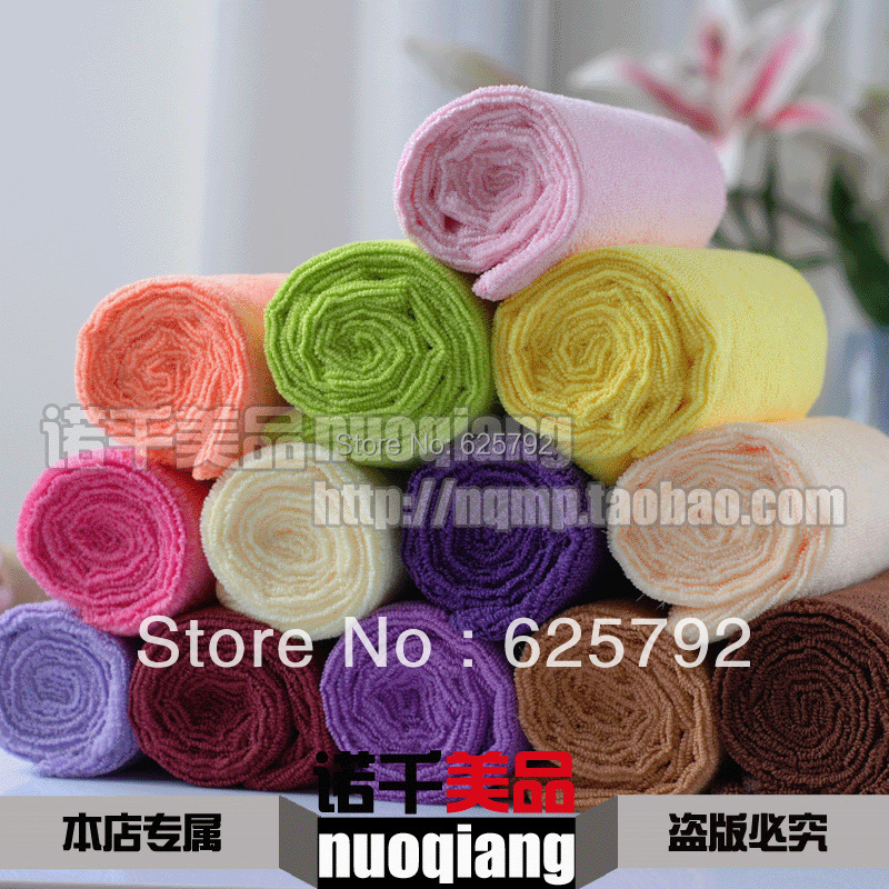 Super thick ultra soft beauty salons towel / hotel towels | | absorbent towel dry hair towel(China (Mainland))