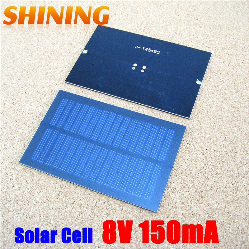 Wholesale 1.2W Solar Panels Power Cell For 3.6V/3.7V Battery Charging Charger, Solar Toy Solar Lamp & DIY Study Solar Cell Panel(China (Mainland))
