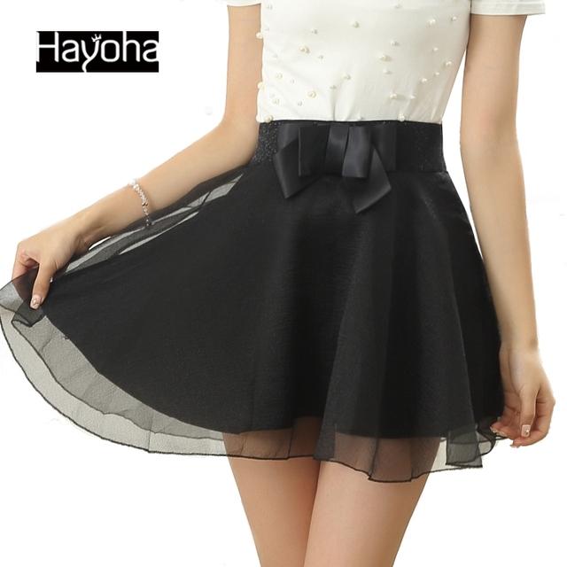 2015 новый случайный Летом стиль лук органза юбки балетной пачки юбки женщин большие ярдов кружева эластичный пояс модные юбки