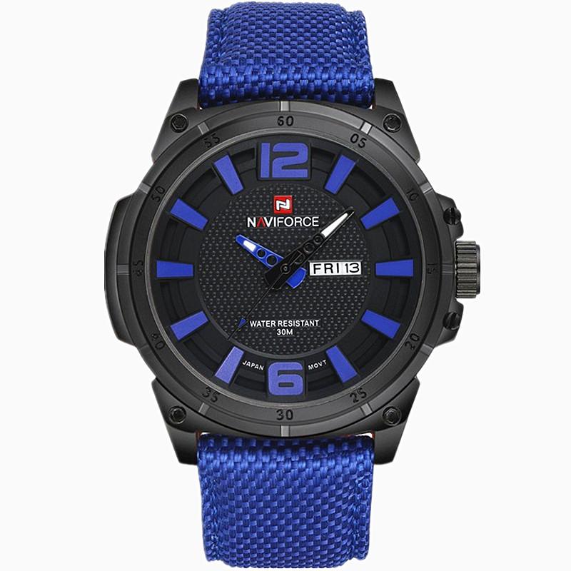 2016 NAVIFORCE Hours Men's Luxury Watch Military Watch Men Quartz Watch Sports Date Clock Brand Men Casual Nylon Watch(China (Mainland))