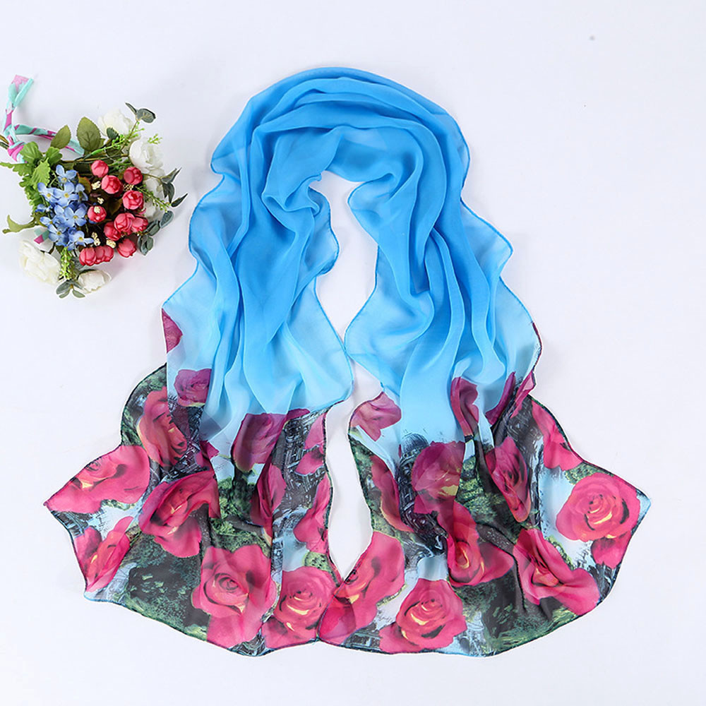scarf brand Womens scarves from india 2016 Butterfly Pattern Long Stole Scarves Shawl luxury brand silk new arrive(China (Mainland))