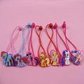 1Pcs Hot Sale My Little 3D Cartoon Cute Pony Peppa Pink Pig Decor Hair Rope For