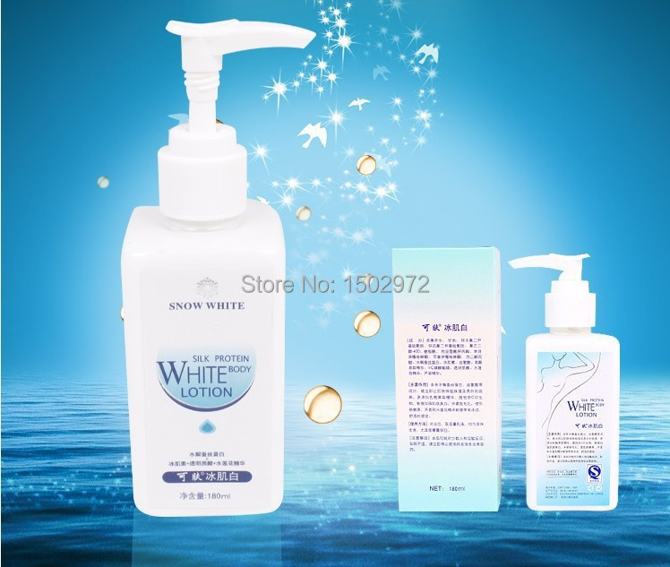1pcs 100% Original Whitening Cream 180ml whitening Face Body Lotion Makeup Retail Wholesale<br><br>Aliexpress