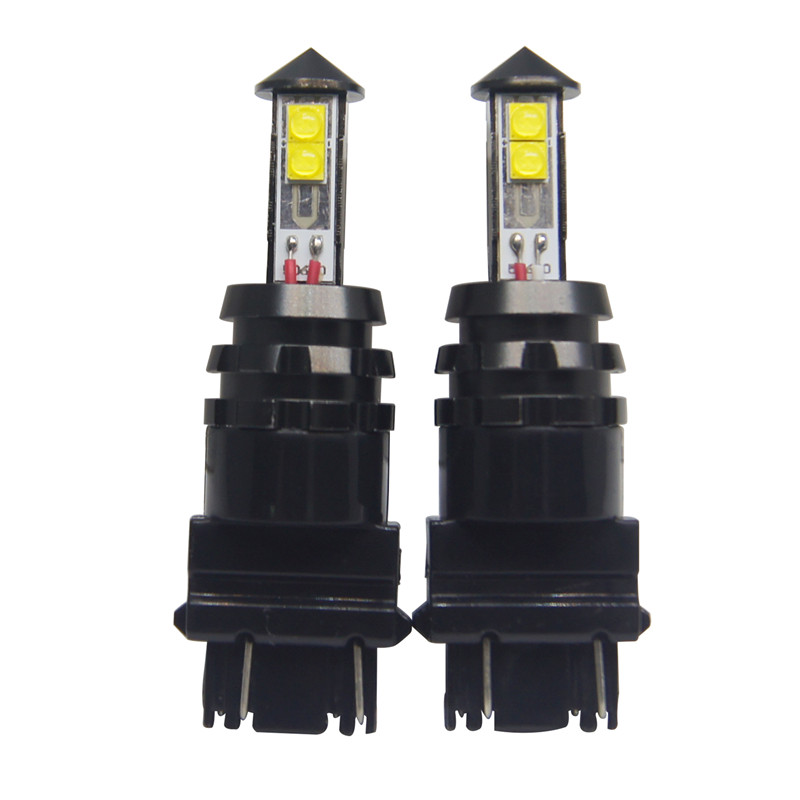 3157 LED White Cree XTE 20W for Car Auto Turn Signal Light Lamp Bulbs with Resistors 2PCS/Lot 1156 7440 7443 9006(China (Mainland))
