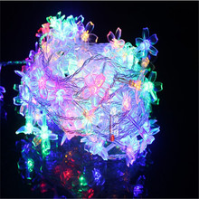 Free shipping Waterproof 10 Metres 100LED Cherry blossom String lights Decorative Lights for Weddings(China (Mainland))