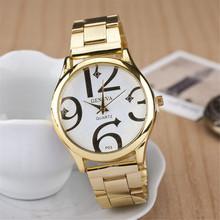 Recién llegado de cuarzo masculino relogio, oro de acero lleno de la correa relojes para hombres relojes de. venta caliente digital mujeres del reloj envío gratis