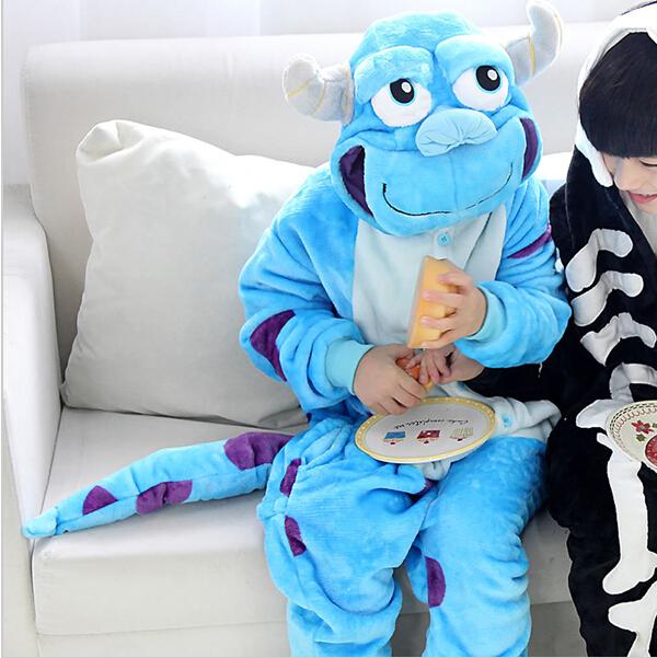 (KC8198)Hot Sale Animal  cartoon wool and Cheese KIds's Kigurumi Costume Children Pajamas wear it In Winter Sleepwear TOp tees(China (Mainland))