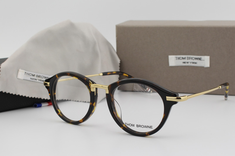 Glasses Frame Repair York : New York Brand round eyeglasses frames men THOM BROWNE ...
