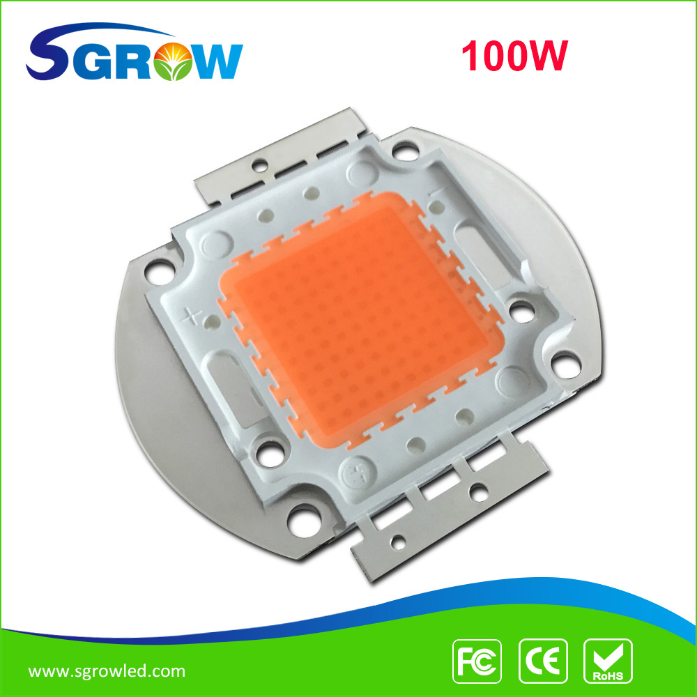 100w led grow chip .full spectrum led diode 30-34v 3A led plant grow light chip for indoor plant seeding grow and flower(China (Mainland))