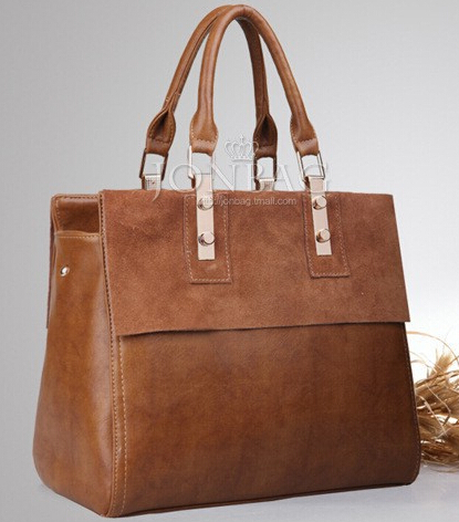 2015 new suede cowhide genuine leather women's handbag fashion vintage one shoulder cross-body bag customize messenger bags