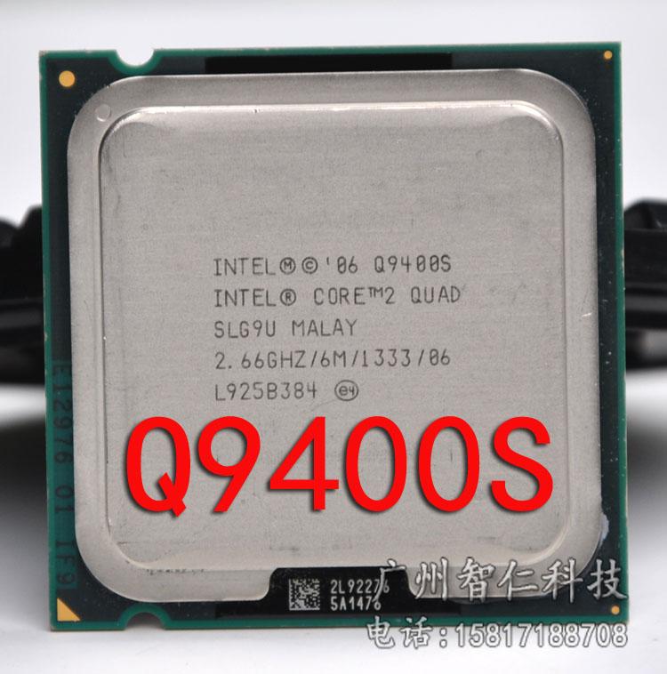 Free Shipping Original Core 2 Quad Q9400S Desktop CPU/Processor/Socket 775/45nm/65W/FSB 1333/ R0 SLG9U/6MB L2/Warranty 1 year(China (Mainland))