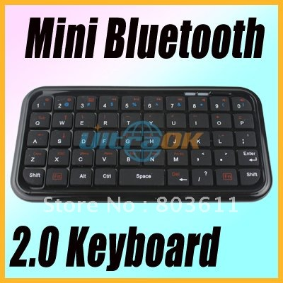 Mini Slim pocket Wireless Bluetooth Keyboard computer Smart Phone black new - Cheap Gadagets Mall store