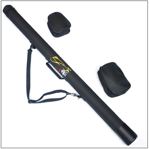 Free shipping multifunction single tube lure rod tube pole for Shipping tubes for fishing rods