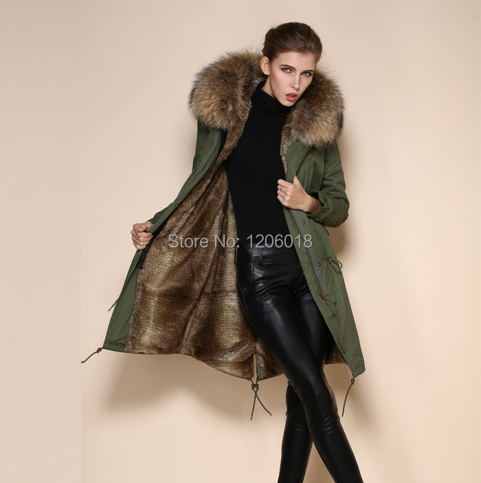 Parka Coats For Women With Fur Hood