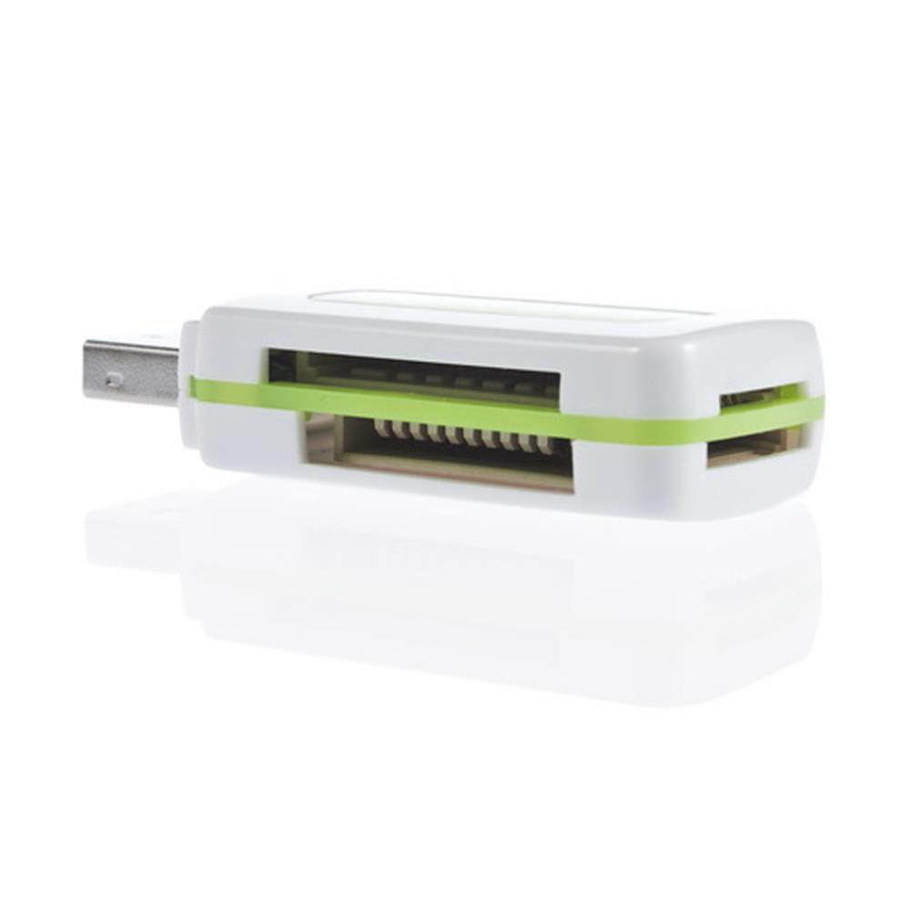 USB 2 0 4 in 1 Memory Multi Card Reader for M2 SD SDHC DV Micro