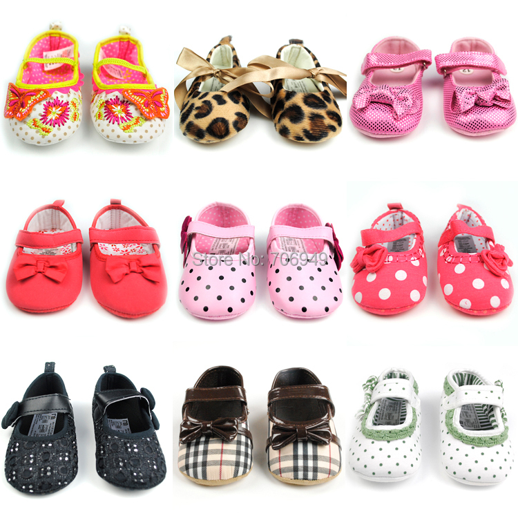 1Pair Baby Shoes Girls First Walkers Infantil Sneakers Boys Toddler Shoe for Newborns PR05 BY02 ST