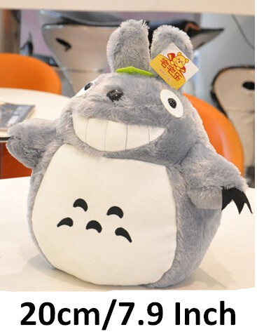 Japan Anime Figure plush pp cotton soft lovely small TOTORO pillow toy Christmas birthday gifts 20cm(China (Mainland))