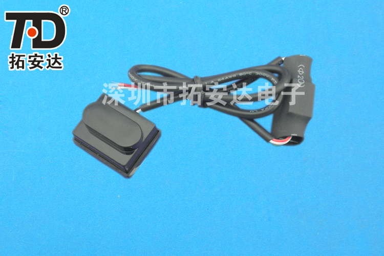 DC12V photoelectric sensor, the human body induction switch module, infrared sensor, the induction distance can be adjusted(China (Mainland))