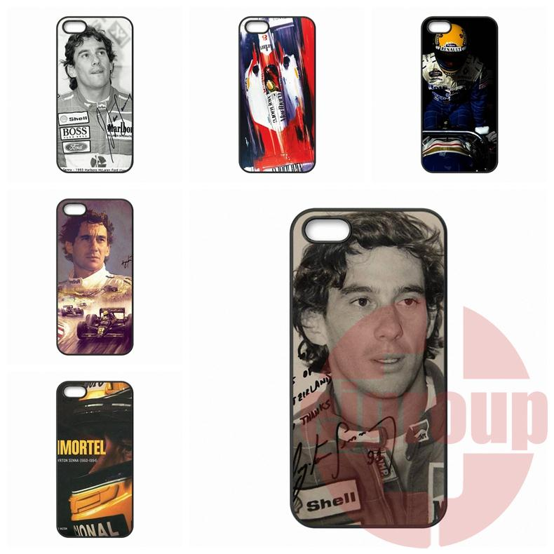 Moto X1 X2 G1 G2 E1 Razr D1 D3 BlackBerry 8520 9700 9900 Z10 Q10 F1 Ayrton Senna da Silva Hard Mobile Phone  -  Cases For You Store store