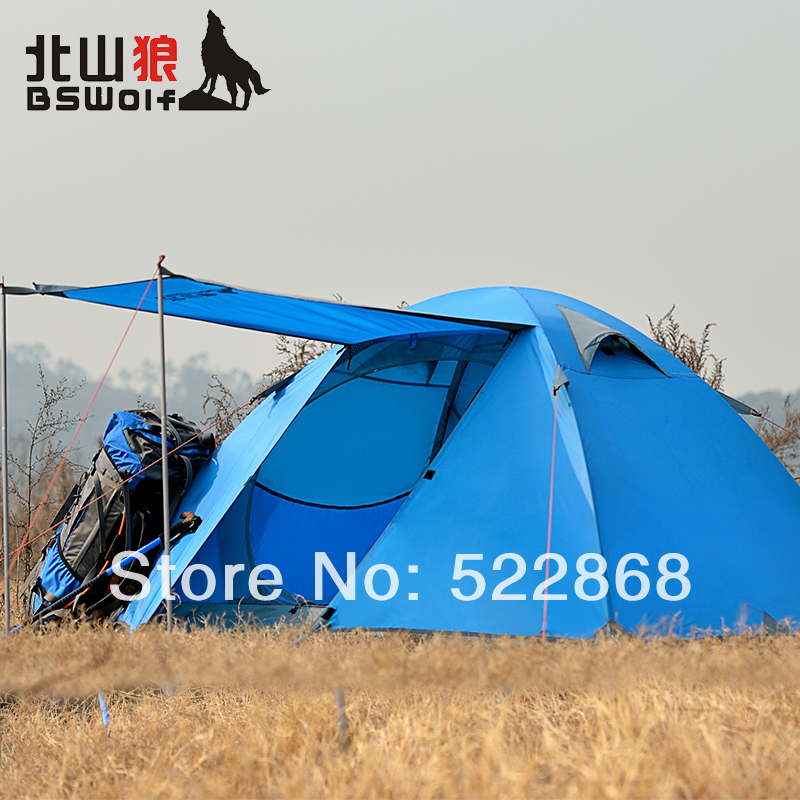 Kitayama Wolf double bunk camping tent outdoor tent outdoor equipment and more air defense rainstorm shipping<br><br>Aliexpress