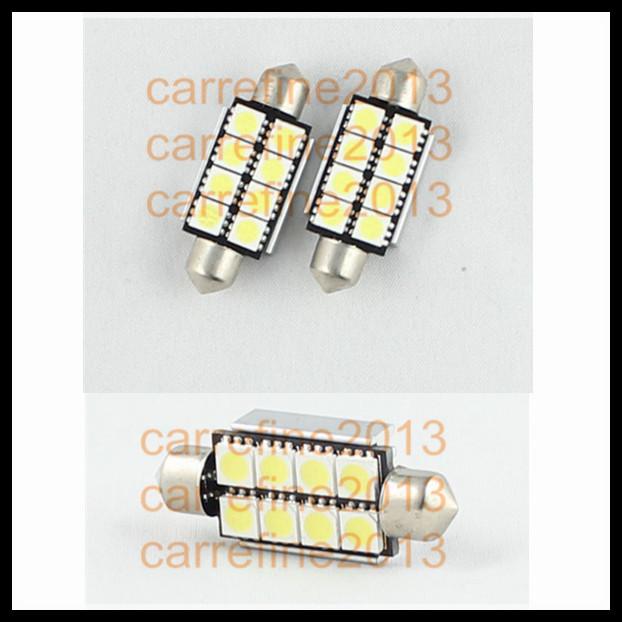 42mm 8SMD 5050 car interior dome light led festoon light lamp bulb no error<br><br>Aliexpress