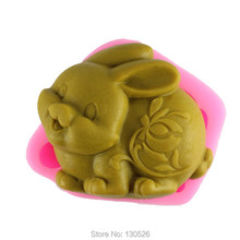 Sell hot Zodiac rabbit modelling silicon soap mold Cake decoration mold Handmade soap mold kitchen Decoration Accessories