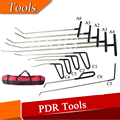 Set 11 Pieces Auto Body Dent Removal Pdr Rod Tool Kit Hail and Door Ding Repair
