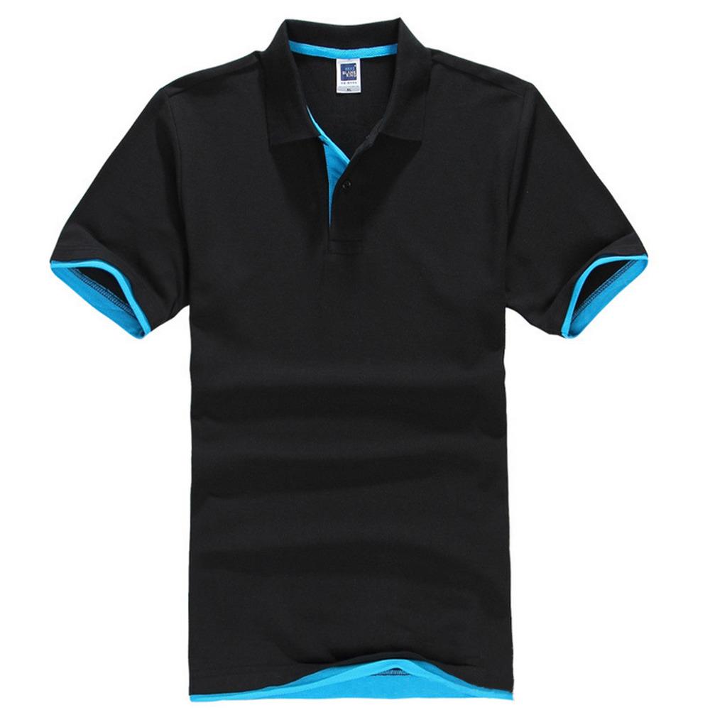 2016 New Brand Men's Polo Shirt For Men Polos Men Cotton Short Sleeve Shirt Sports Jerseys Golf Tennis Plus Size 3XL(China (Mainland))