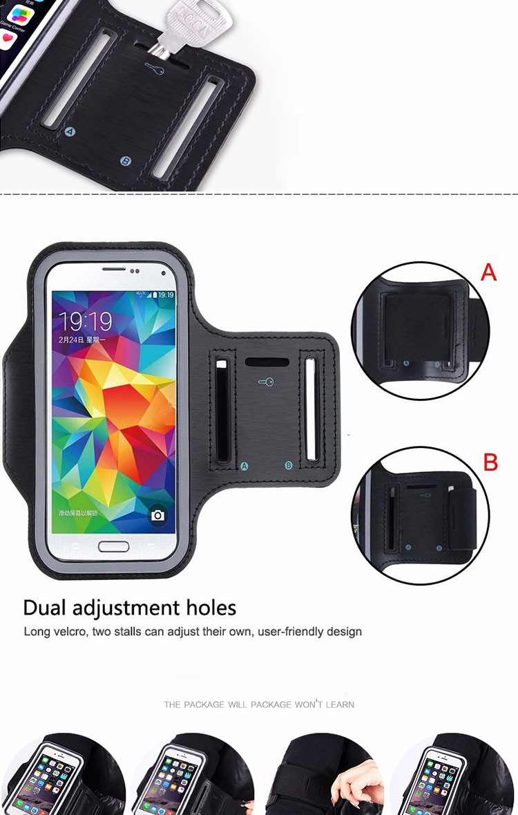 New Arrival Running Sports Gym Band Exercise Arm Cover Tune Belt Sports Case_01 (4)