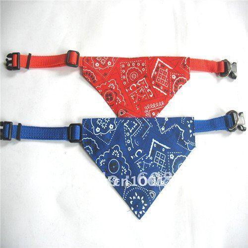 Free shipping! Mix color order!Wholesale 30pcs/lot size S(1.0) high quality cotton pet scarf,dog scarf,dog bandana,pet products