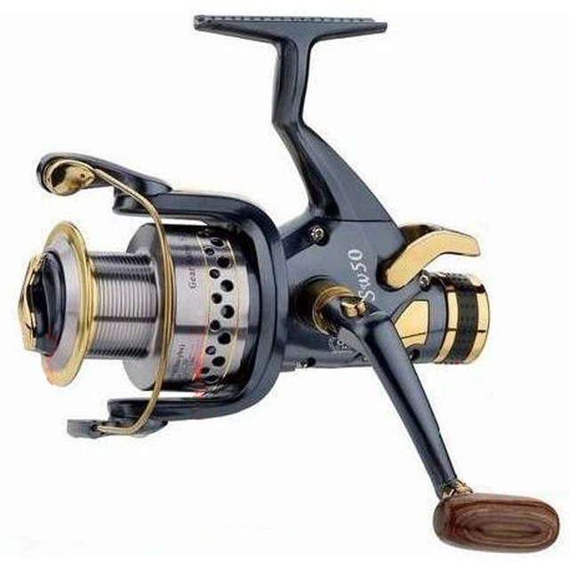 reel fish wheel spinning wheel metal fishing reel fishing round 1 roll 100 meters fishing line