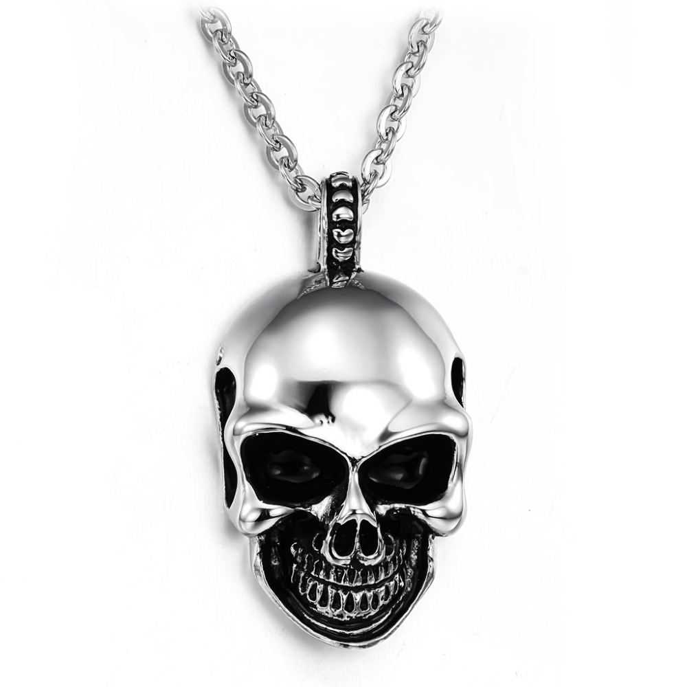 Fashion Jewelry Cool Skull Chain Men's Stainless Steel Necklaces Men Necklace&pendants XL807 - China DonYi Co.,Ltd store