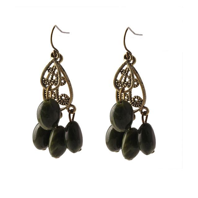 The National Wind Bohemian Retro Tassels Wild Dangle Drop Earrings Female For Women E666